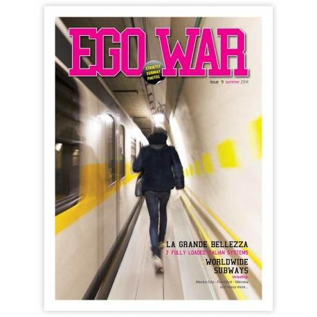 Egowar 9 - Strictly subway magazine