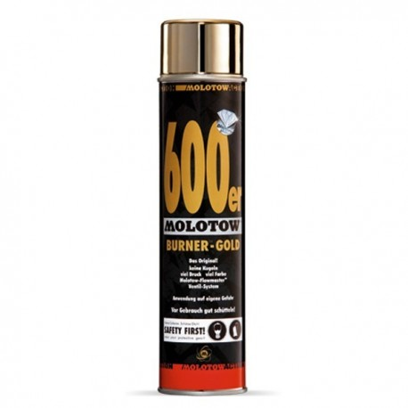 Molotow BURNER GOLD - 600 ml