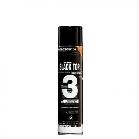 Molotow COVERS ALL 3 BLACK TOP - 600 ml