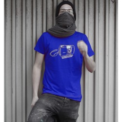 T-Shirt Mu Camera by BROS - Blue UNI