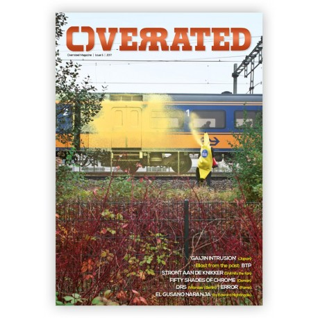 Overrated 5 - graffiti magazín