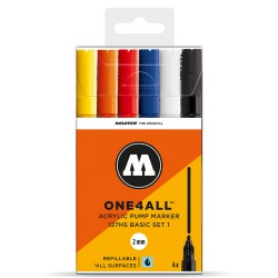 Molotow One4All 127HS Basic Set 1 - 6 ks