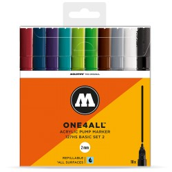 Molotow One4All 127HS Basic Set 2 - 10 ks