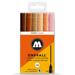 Molotow One4All 127HS Character Set - 6 ks
