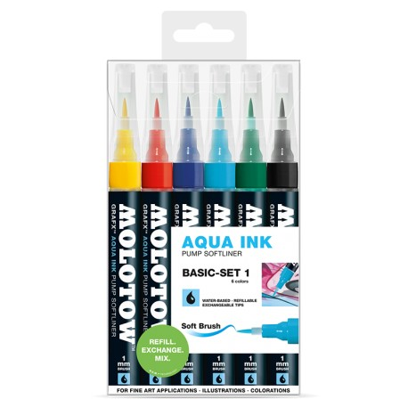Aqua Pump Softliner Basic Set 1 - 6 ks