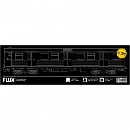 FLUX System Sketch Pad Stockholm Subway
