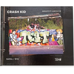 Crash Kid Graffiti Archive - kniha